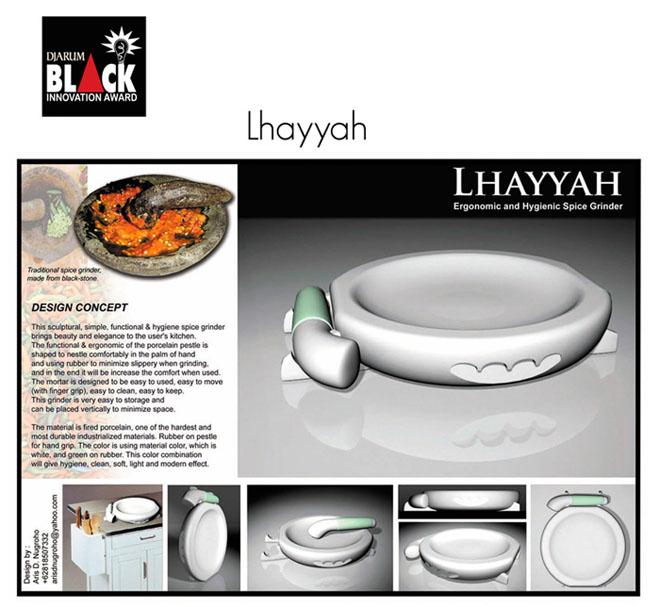 Lhayyah. Finalist of Djarum Black Innovation Award 2007.