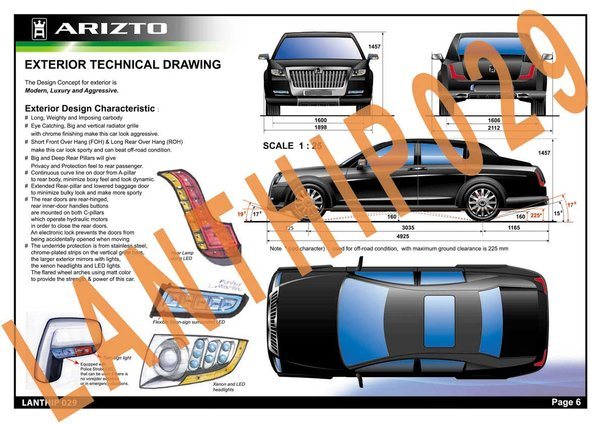 ARIZTO. Top-10 finalist of Design & Styling competition at Gaikindo Auto Expo Jakarta, 2007.