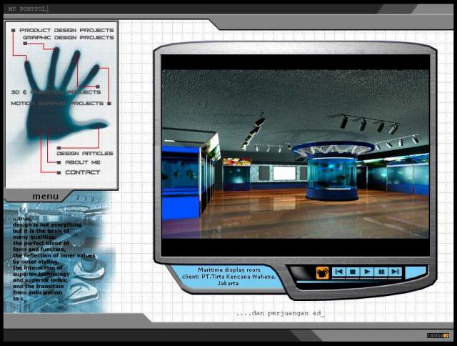 Portfolio, CD interactive, 2002.
