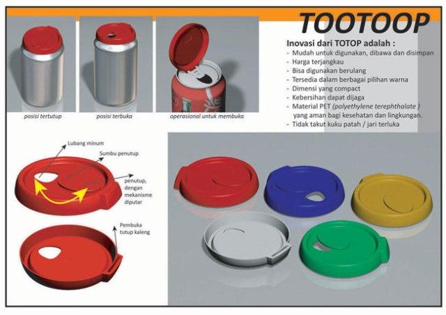 TooToop. Djarum Black Innovation Awards 2009, Top 50 finalist.