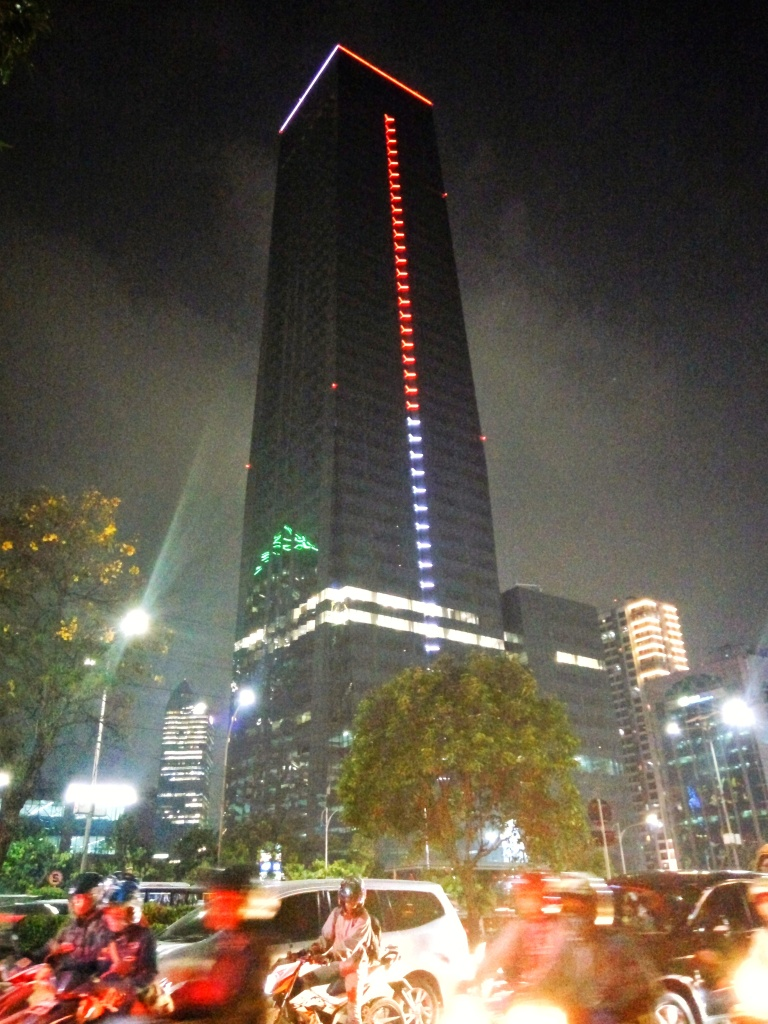 THE Tower facade lighting, Jakarta