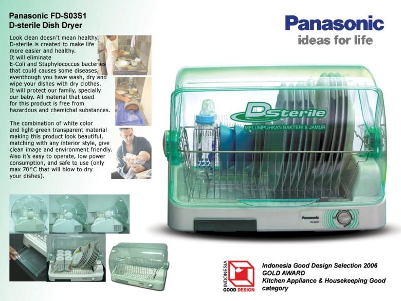 Panasonic Dish Dryer