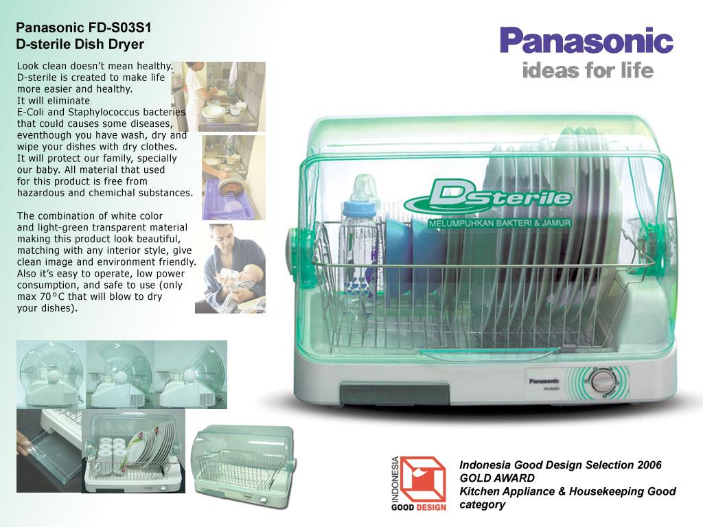 Panasonic Dish Dryer & Industrial Design u2013 arisdn azcodes.com