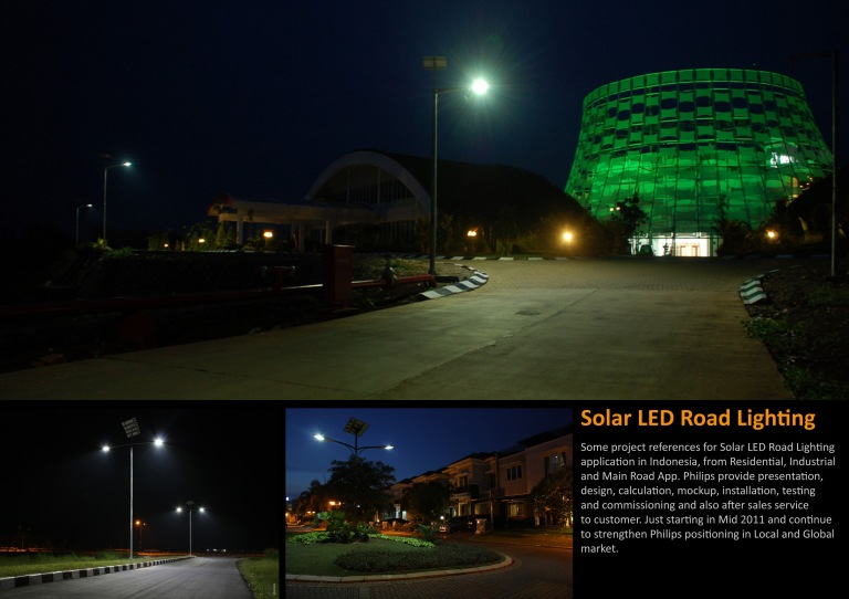 Some project references when I was Solar LED Roadlighting business development manager.