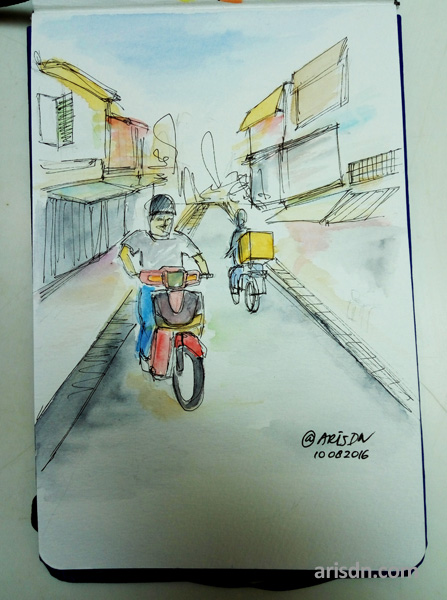 hanoi-sketch