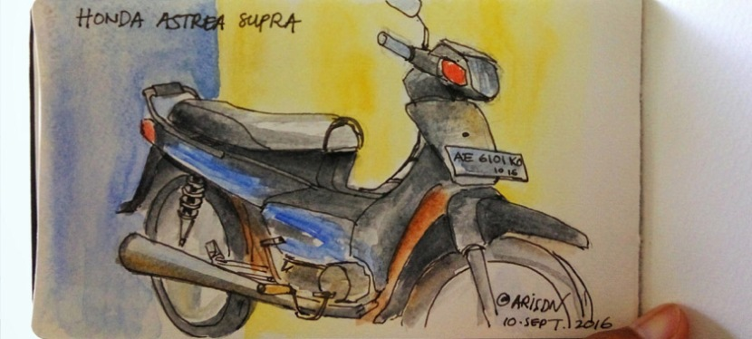 Honda Astrea Supra