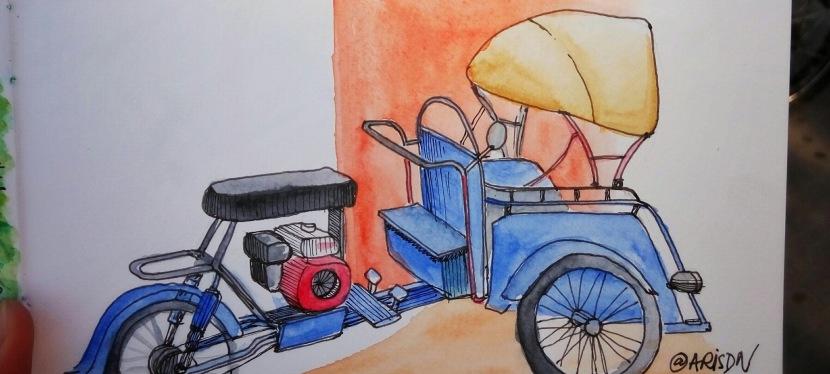 Becak Motor