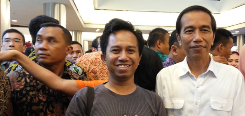 Jokowi and me
