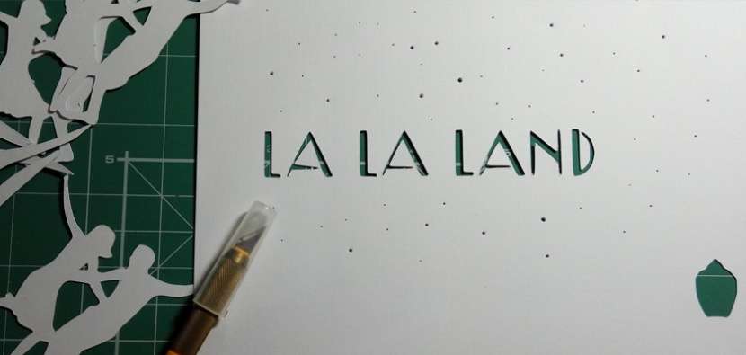 Paper Cutting Cupo-La La Land