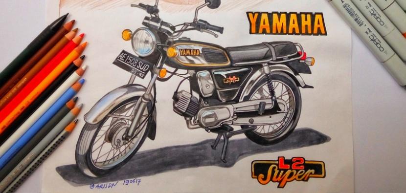 Motorbike and PortraitSudiman