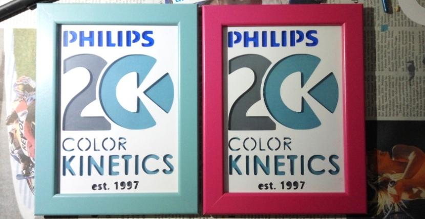 Papercutting Cupo Philips Color Kinetics20