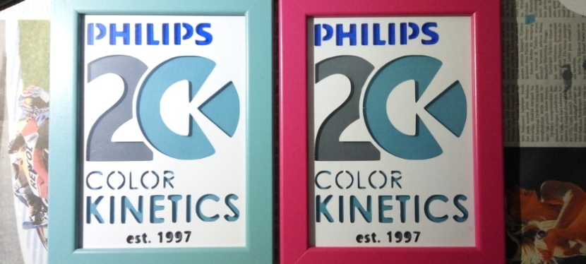 Papercutting Cupo Philips Color Kinetics 20