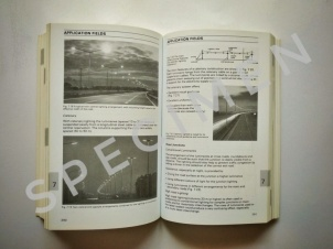 The specimen of content with monochrome images or graphics
