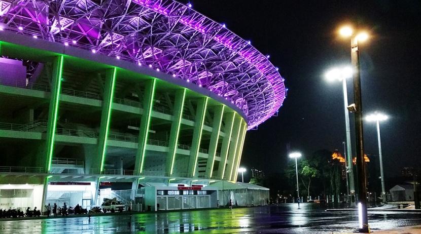 GBK Main Stadium Jakarta facadelighting
