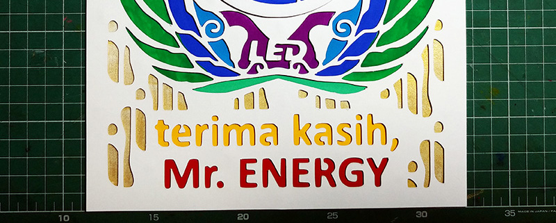 Terima Kasih, Mr.Energy